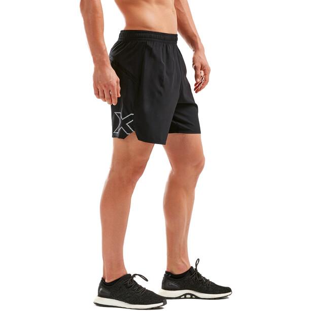 "2XU XVENT 7"" Free Shorts Herren black/black"