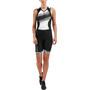 2XU Compression Trisuit Damen black/black white lines