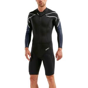 2XU Sr:Pro-Swim Run Sr1 Wetsuit Herren black/blue surf black/blue surf