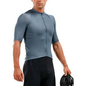 2XU Elite Cycle Jersey Herr slate grey/slate grey slate grey/slate grey