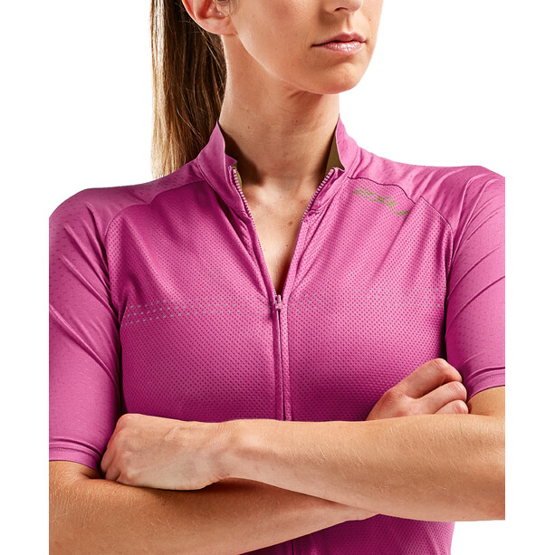 2XU Elite Cycle Trikot Damen fuchsia purple