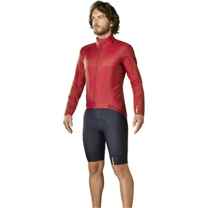 Mavic Essential Wind Jacke Herren haute red haute red