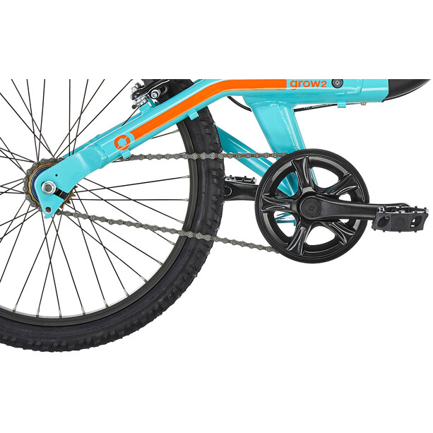ORBEA Grow 2 1V Kinder black/jade green