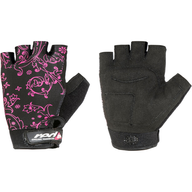Red Cycling Products Race Bike Gloves Flickor black-pink