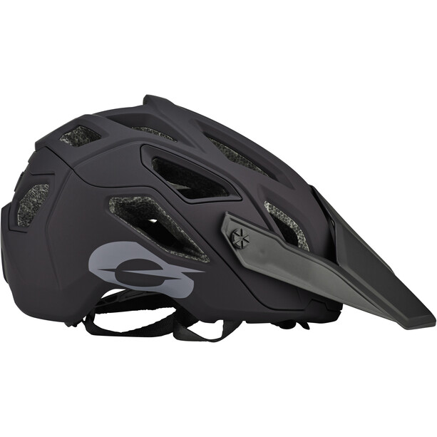 O'Neal Pike 2.0 Helm Solid black/gray