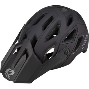 O'Neal Pike 2.0 Helm Solid black/gray black/gray