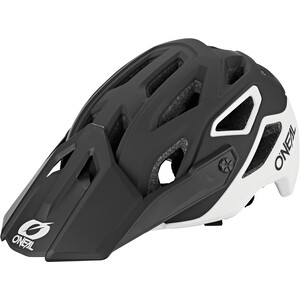 O'Neal Pike 2.0 Helm Solid black/white black/white