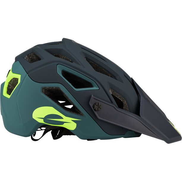 O'Neal Pike 2.0 Helm Solid green/neon yellow