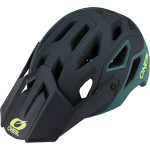 O'Neal Pike 2.0 Helm Solid green/neon yellow green/neon yellow