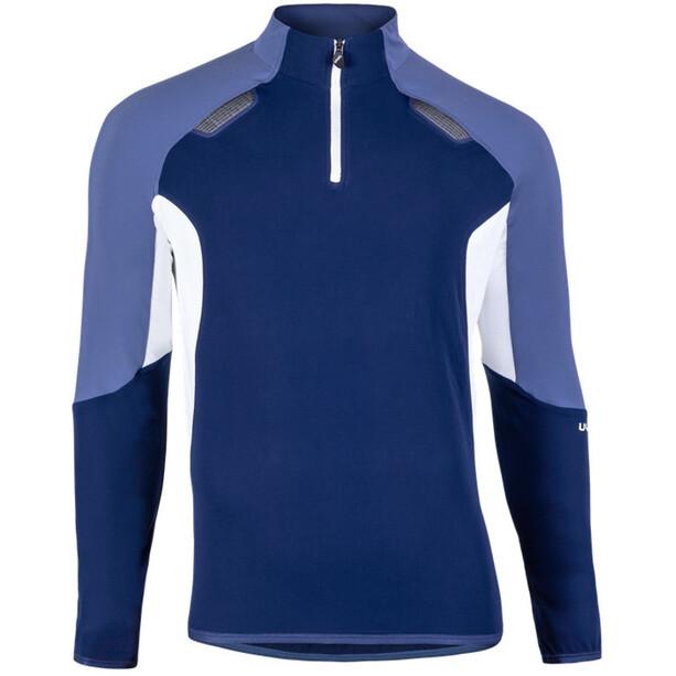 UYN Move Zip Up Jacke Herren deep blue/indigo/off white