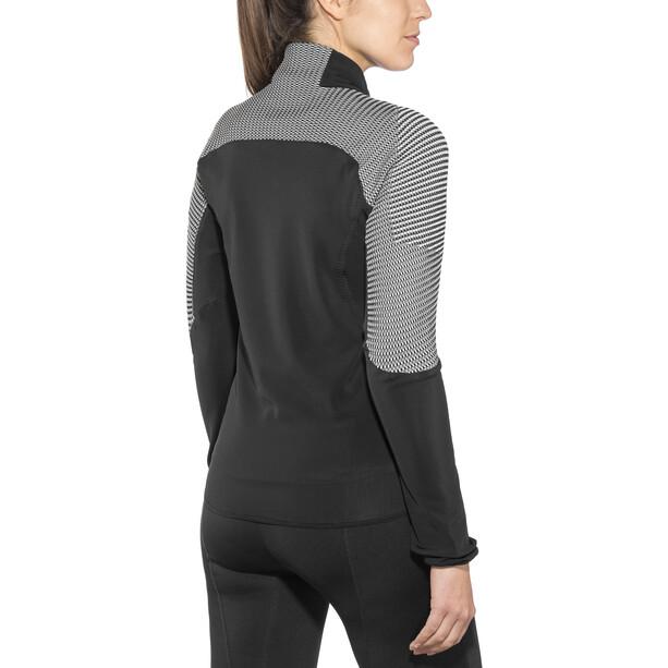 UYN Ambityon Second Layer Full-Zip Jacke Damen black/medium grey/off white