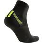 UYN Run Veloce Socken Herren black/yellow fluo
