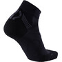 UYN Run Super Fast Socken Herren black/anthracite