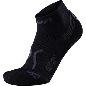 UYN Run Super Fast Socken Damen black/anthracite black/anthracite