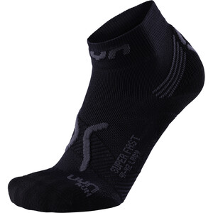 UYN Run Super Fast Socken Damen black/anthracite black/anthracite