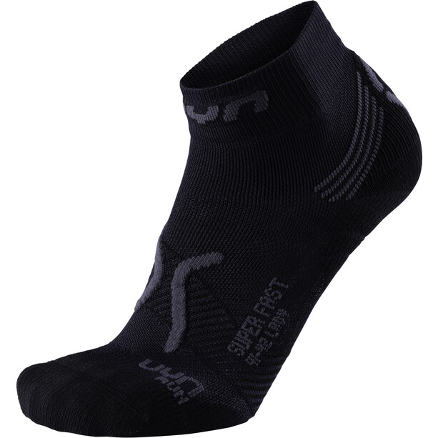 UYN Run Super Fast Socken Damen black/anthracite
