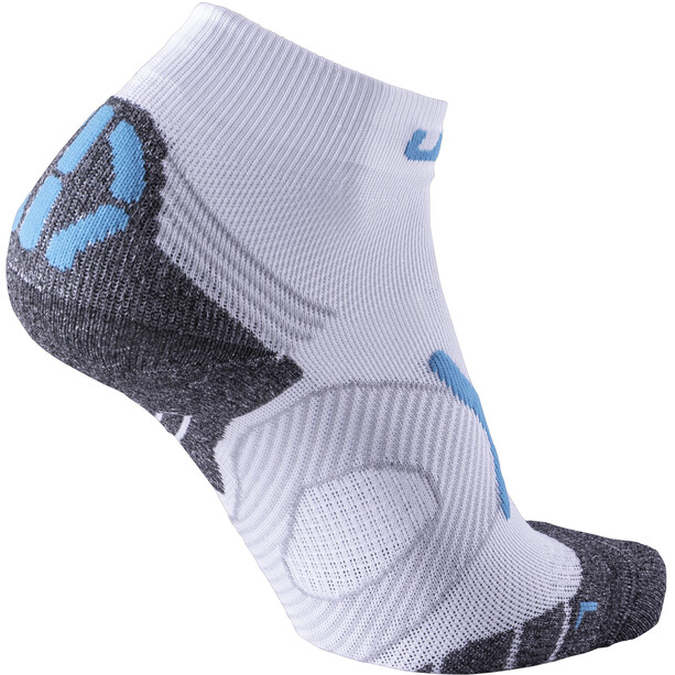 UYN Run Super Fast Socken Damen white/turquoise
