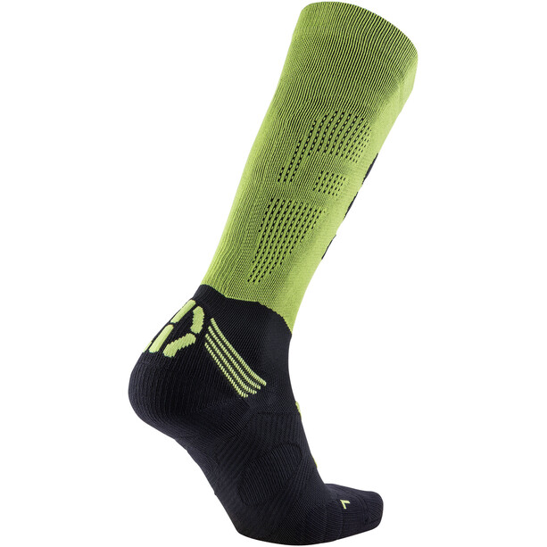 UYN Run Compression Fly Socken Herren acid green/black