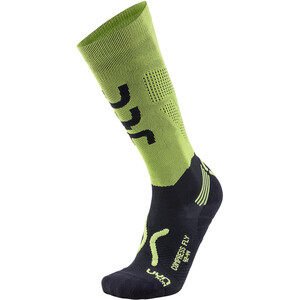 UYN Run Compression Fly Socken Herren acid green/black acid green/black