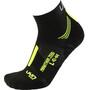 UYN Run Marathon Zero Socken Herren black/yellow fluo