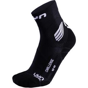 UYN Run Trail Challenge Socken Herren black/white black/white