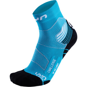 UYN Run Trail Challenge Socks Dame turquoise/white turquoise/white