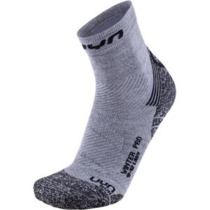UYN Winter Pro Run Socken Damen grey/black grey/black