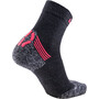 UYN Winter Pro Run Socks Dam grå/orange