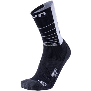 UYN Cycling Support Socken Herren black/anthracite black/anthracite
