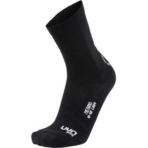 UYN Cycling Merino Socken Damen black/white black/white