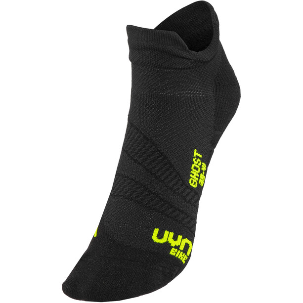 UYN Cycling Ghost Socken Herren black/yellow fluo