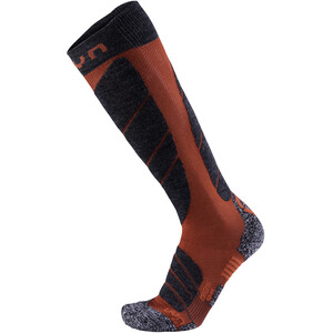 UYN Ski Magma Socken Herren dark red/anthracite dark red/anthracite