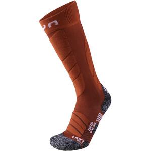 UYN Ski Magma Socken Damen dark red/red dark red/red