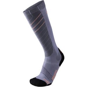 UYN Ski Superleggera Socken Damen silver/coral silver/coral