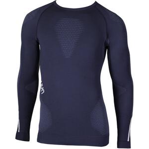 UYN Ambityon UW Langarmshirt Herren deep blue/avio/white deep blue/avio/white