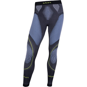 UYN Evolutyon Melange UW Lange Hose Herren anthracite melange/blue/yellow shiny anthracite melange/blue/yellow shiny