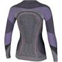 UYN Ambityon Melange UW Langarmshirt Damen black melange/purple/raspberry