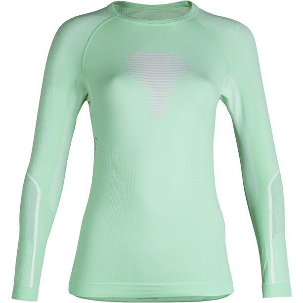 UYN Visyon UW Langarmshirt Damen aqua/pink/pearl grey
