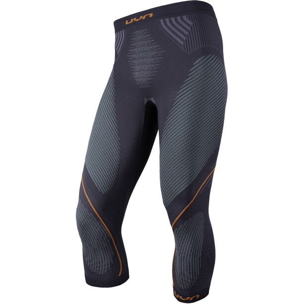 UYN Evolutyon UW Medium Hose Herren charcoal/green/orange shiny
