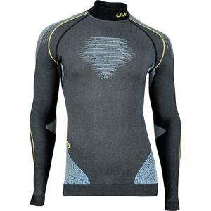 UYN Evolutyon Melange UW T-shirt Manches longues Col roulé Homme, gris/bleu gris/bleu