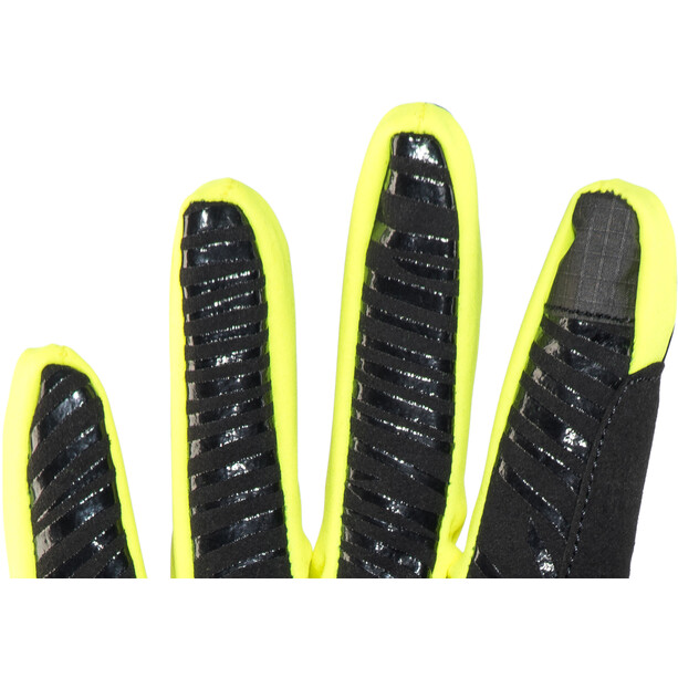 Red Cycling Products Winter Race Bike Handschuhe black-neonyellow