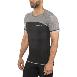 UYN Running Alpha OW SS Shirt Herre charcoal/sleet grey charcoal/sleet grey