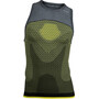 UYN Running Alpha OW Singlet Herr tonic yellow/sleet grey