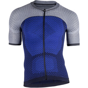 UYN Biking Alpha OW Kurzarmshirt Herren medieval blue/sleet grey medieval blue/sleet grey