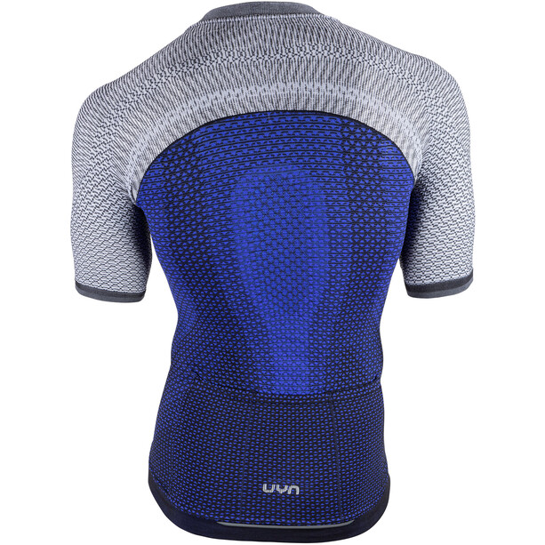 UYN Biking Alpha OW Kurzarmshirt Herren medieval blue/sleet grey