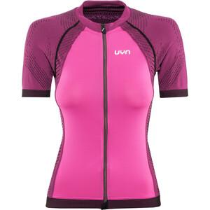 UYN Biking Activyon OW SS Shirt Dam violet rose/pink/black violet rose/pink/black