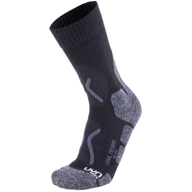 UYN Trekking Cool Merino Socken Herren black/grey melange