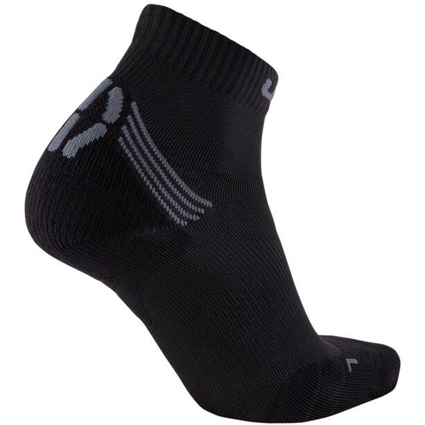 UYN Run Veloce Socken Herren black/grey
