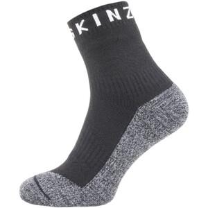 Sealskinz Soft Touch Ankle Length Socks black/grey/white black/grey/white