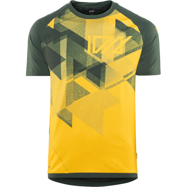 ION Traze AMP Kurzarm T-Shirt Herren smiley yellow